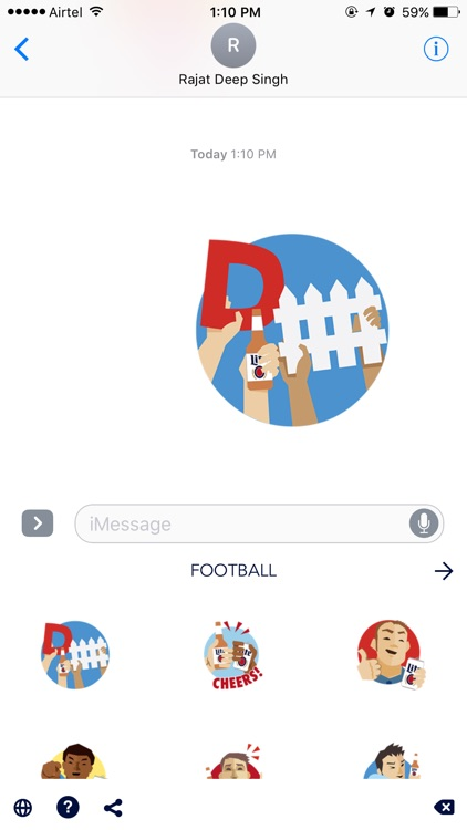 Football Stickers by Lite screenshot-4