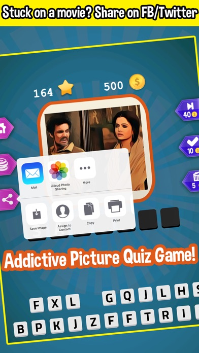 Guess the Bollywood Movie Quiz Screenshot on iOS
