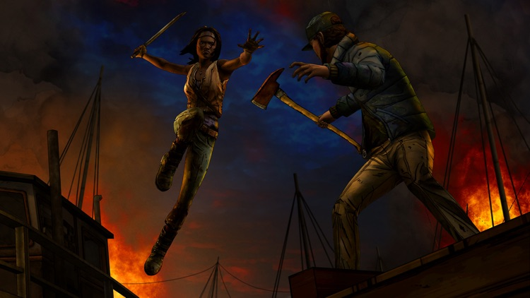The Walking Dead: Michonne - A Telltale Miniseries screenshot-0