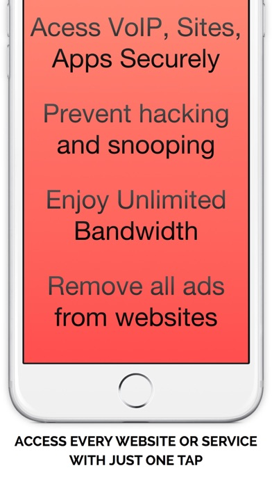 Best Free VPN   Unlimited Proxy to Access websites Screenshot on iOS