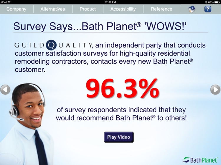 Bath Planet Product Presentation screenshot-4