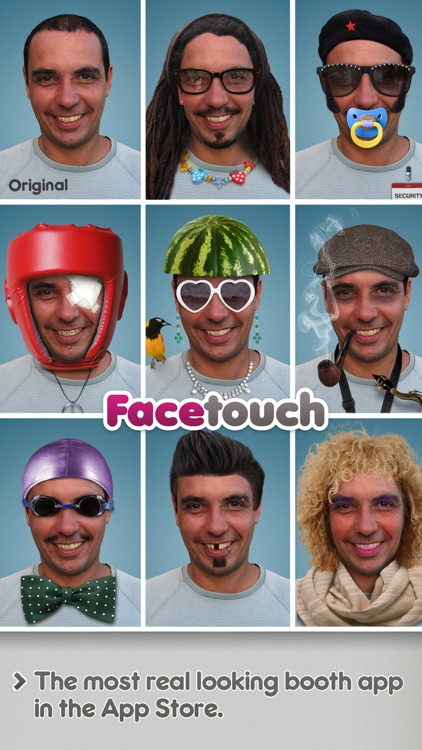 Facetouch HD Lite - Create funny and cool Booth pics