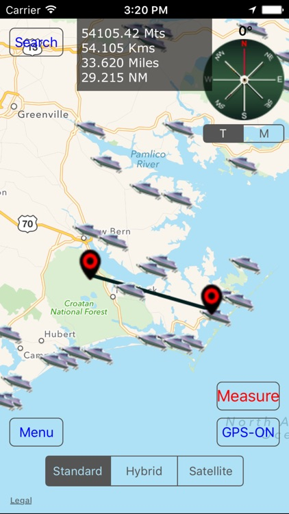 North Carolina: Salt Water Boat Ramps screenshot-3