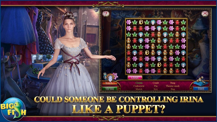 Danse Macabre: Lethal Letters - A Mystery Hidden Object Game (Full) screenshot-1