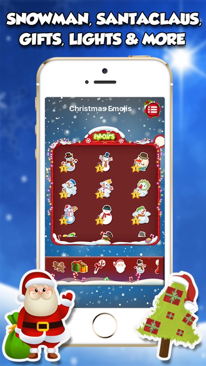 Christmas Emojis & Stickers screenshot-4