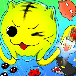 Nyan-Jelly  Get & Float: Decorate with sweets!