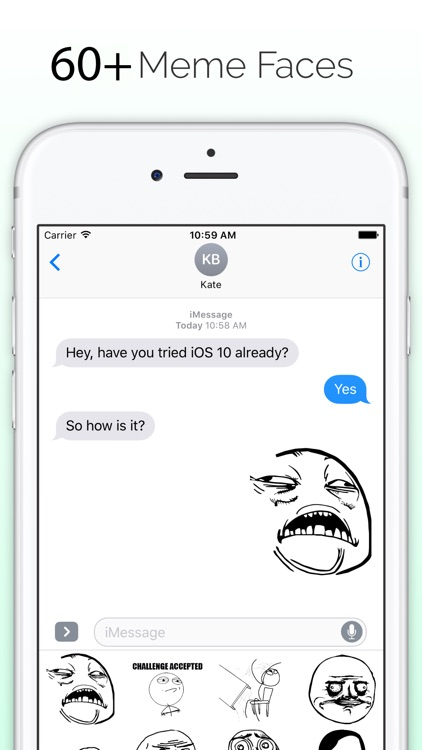 Meme Faces - Memes for iMessage