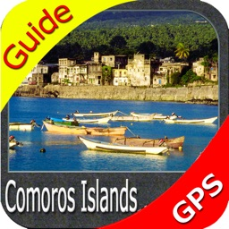 Comoros Islands HD - GPS Map Navigator