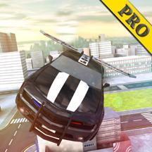 Police flying racing car simulator