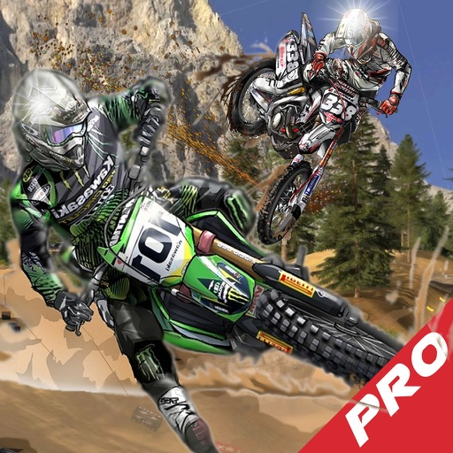 A Racetrack Fast Motorcycle X-Fighters Pro - Game Fast Motorcycle
