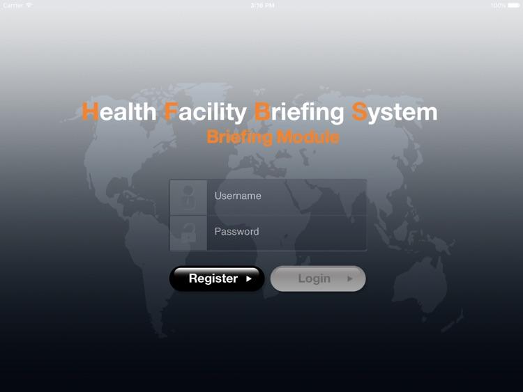 HFBS Briefing Lite for iPad
