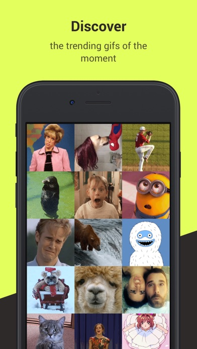 Gifster - Discover and share animated gifs screenshot one