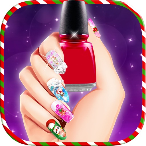 Christmas Princess Nail Salon Nail Art Games By Grishma Parmar