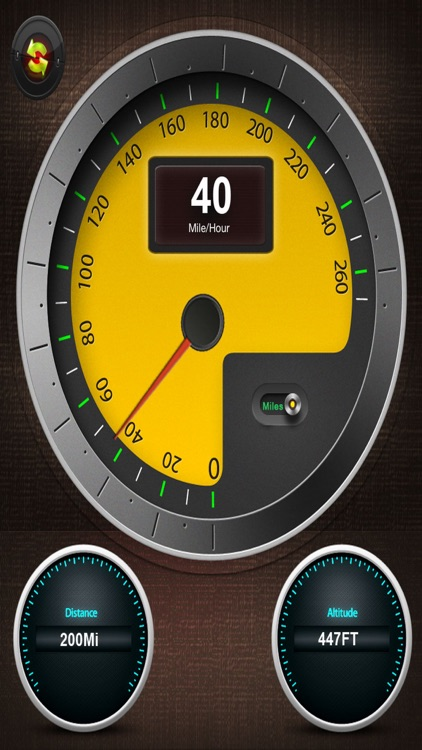 Speedometer - Driving Speed
