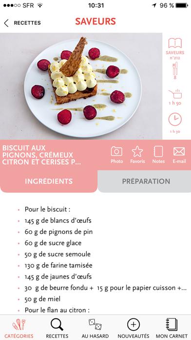 Saveurs Plus De 3000 Recettes Inratables Gourmandes Et Raffines review screenshots