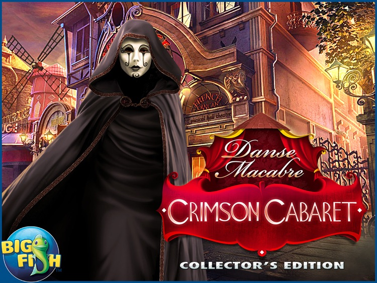 Danse Macabre: Crimson Cabaret HD - A Mystery Hidden Object Game (Full) screenshot-4