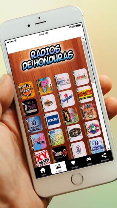 Radios de Honduras y Emisoras Gratis AM FM screenshot three
