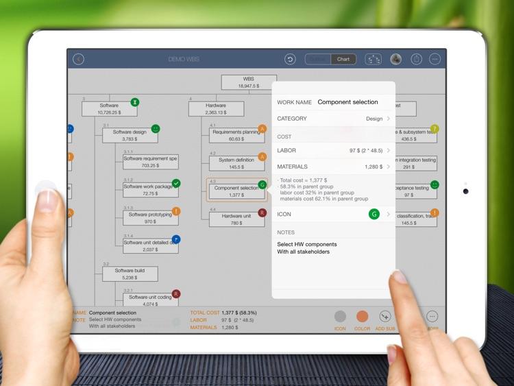 WBS - Project Work Management screenshot-3