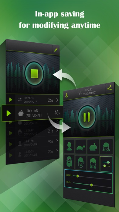 Voice Changer, Sound Recorder app image