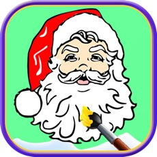 Activities of Santa Claus coloring pages