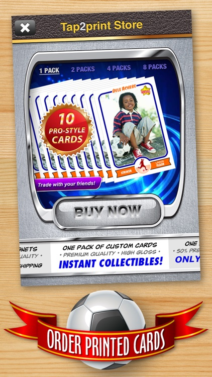 Soccer Card Maker - Make Your Own Custom Soccer Cards with Starr Cards screenshot-4
