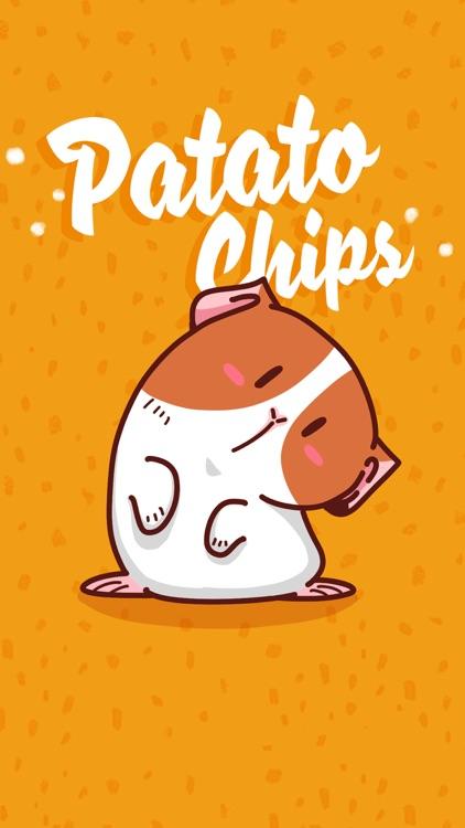 Potato Chips − NHH Stickers