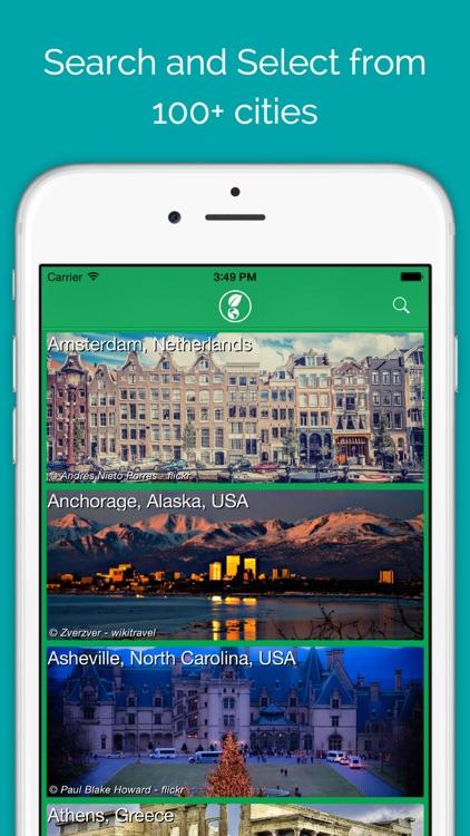 BonGEO Travel App screenshot-0