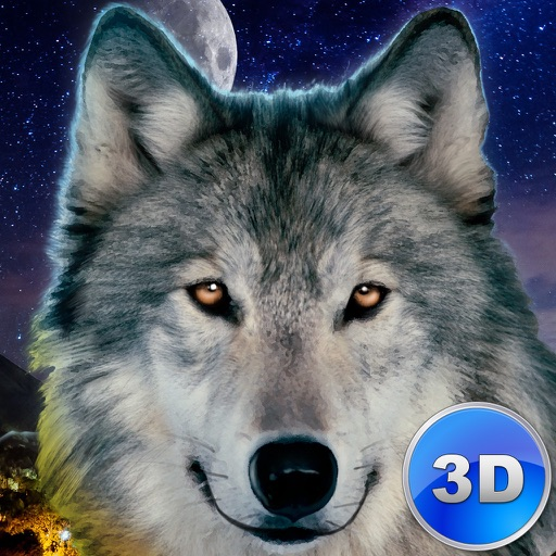 Evil Wild Wolf Simulator 3D icon