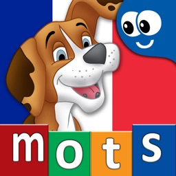 French First Words with Phonics: Kids Preschool Spelling & Learning Game