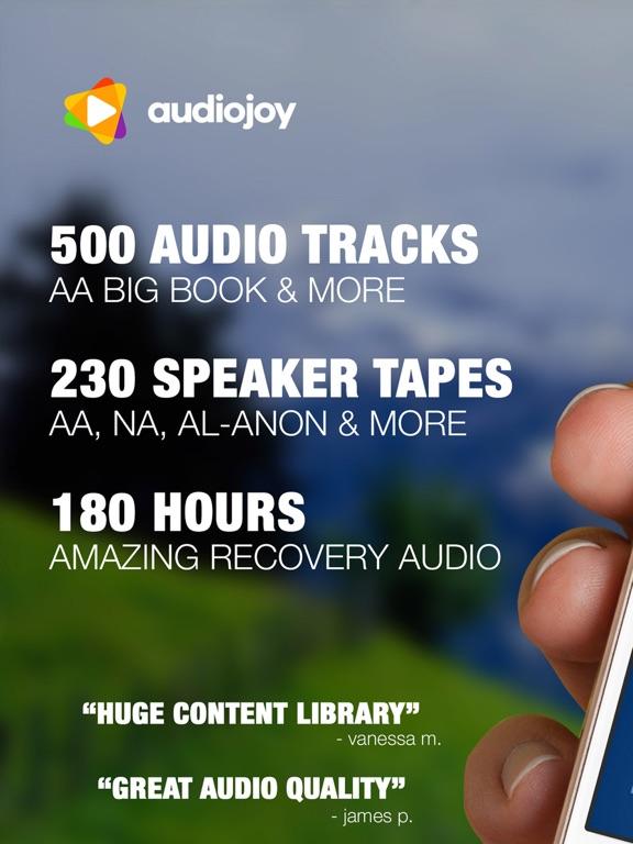 AA Big Book Audio from Alcoholics Anonymous Sober-ipad-0