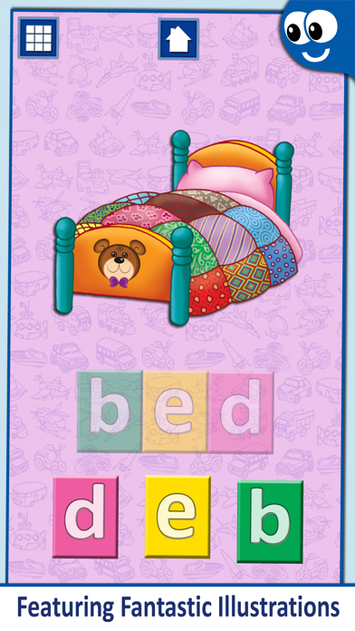 First Words for Kids and Toddlers Professional: Preschool learning reading through letter recognition and spelling screenshot three