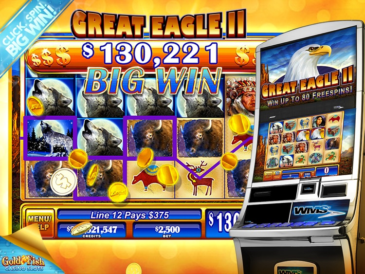 Gold Fish Slots Casino HD screenshot-4