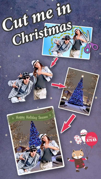 Cut Me In Christmas Photos - Change Yr Look to Santa Claus & Xmas Elf