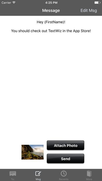 Textwiz review screenshots