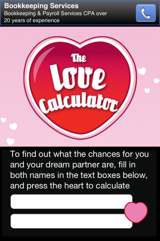The Love Calculator screenshot 3