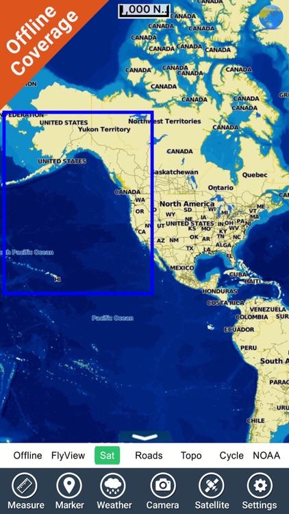 Boating US West & Alaska HD screenshot-4