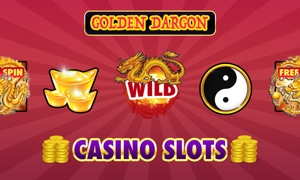Casino Slots - Golden Dragon Treasure box