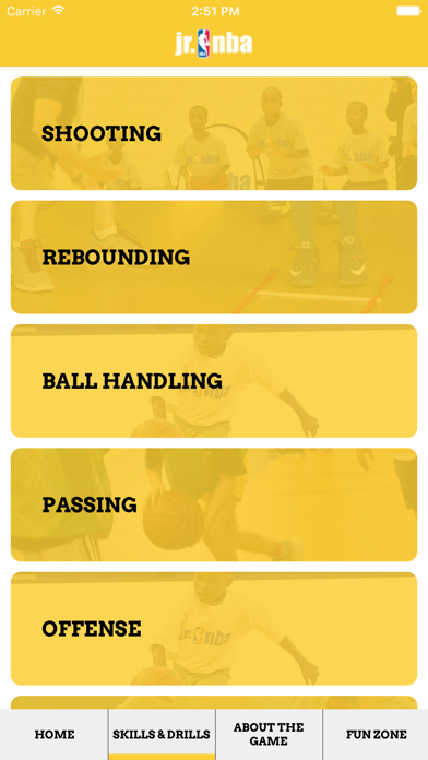 Screenshot #2 pour Jr NBA App