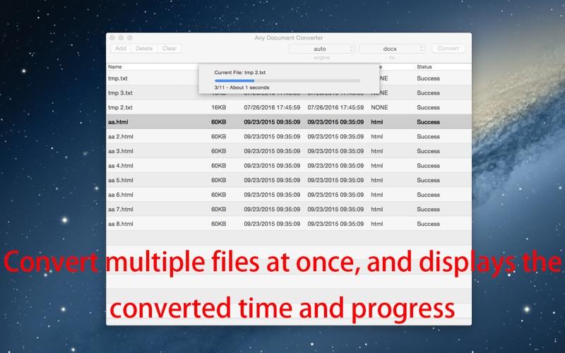 Any Document Converter скриншот программы 5