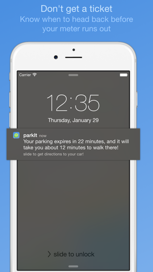 ‎ParkIt - parking location and expiration reminder Screenshot