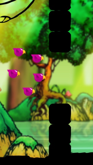 Bird Land - Fly keep candy and spawn bad wor
