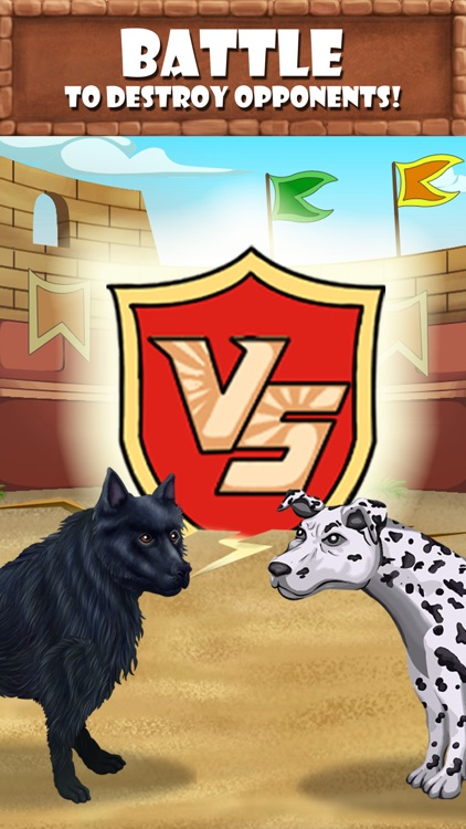Puppy Care - puppies feed, breed, battle pet games screenshot-3