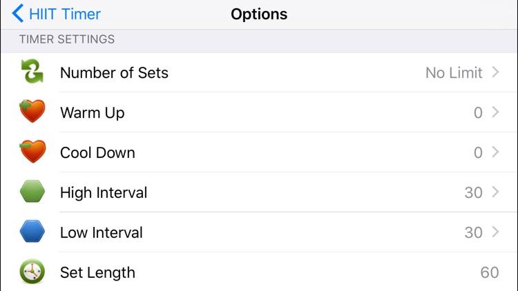 HIIT Timer (Intervals) screenshot-3