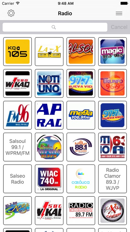 Radio FM Puerto Rico Stations screenshot-0