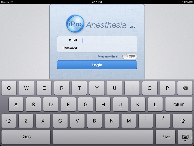 iPro Anesthesia