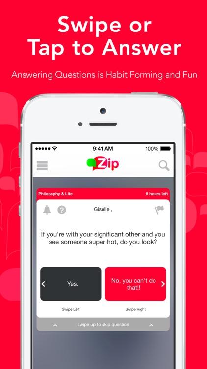 Zip - The Question Answer App screenshot-3