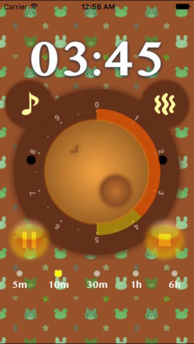 Kuma Timer - Bear's Face Timer screenshot two