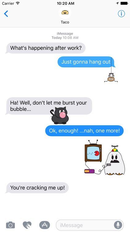 DooDads Halloween Stickers screenshot-0