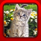 子猫猫楽しいジグソーパズル子供や幼児無料のためのゲーム icon