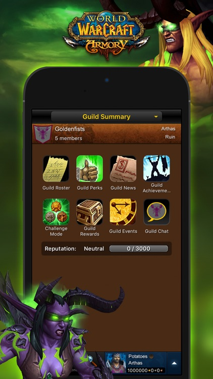 World of Warcraft Mobile Armory screenshot-3